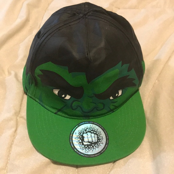 bdc4a67f9fc2e H M Other - The Incredible Hulk!! Hulk Smash Hat.